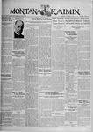 The Montana Kaimin, October 1, 1929