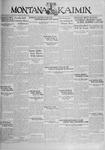 The Montana Kaimin, October 4, 1929