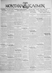 The Montana Kaimin, October 8, 1929