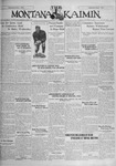 The Montana Kaimin, October 11, 1929