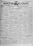The Montana Kaimin, October 18, 1929
