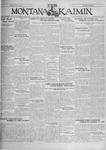 The Montana Kaimin, October 22, 1929