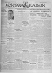 The Montana Kaimin, October 29, 1929