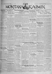 The Montana Kaimin, November 1, 1929