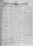 The Montana Kaimin, November 8, 1929