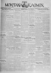 The Montana Kaimin, November 12, 1929