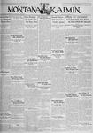 The Montana Kaimin, November 22, 1929