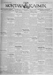 The Montana Kaimin, November 26, 1929
