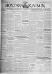 The Montana Kaimin, December 13, 1929