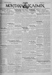 The Montana Kaimin, January 10, 1930