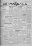 The Montana Kaimin, January 17, 1930