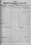 The Montana Kaimin, January 21, 1930