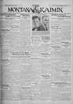 The Montana Kaimin, March 28, 1930