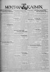 The Montana Kaimin, April 4, 1930