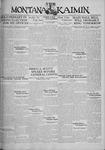 The Montana Kaimin, April 22, 1930