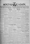 The Montana Kaimin, April 25, 1930