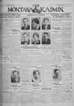 The Montana Kaimin, April 29, 1930