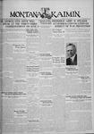 The Montana Kaimin, May 20, 1930
