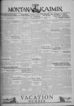 The Montana Kaimin, June 3, 1930