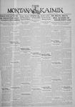 The Montana Kaimin, August 7, 1930