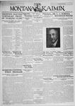 The Montana Kaimin, September 26, 1930