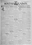 The Montana Kaimin, October 3, 1930