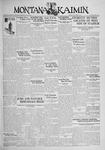 The Montana Kaimin, October 7, 1930