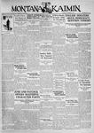 The Montana Kaimin, November 4, 1930