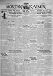 The Montana Kaimin, November 21, 1930