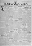 The Montana Kaimin, January 16, 1931