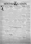 The Montana Kaimin, January 23, 1931