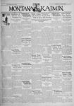 The Montana Kaimin, February 3, 1931