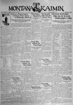 The Montana Kaimin, March 3, 1931