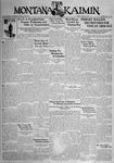 The Montana Kaimin, April 24, 1931