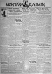 The Montana Kaimin, April 28, 1931