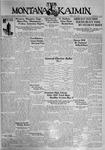 The Montana Kaimin, May 1, 1931