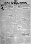 The Montana Kaimin, May 13, 1931