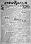 The Montana Kaimin, June 5, 1931