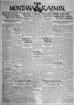 The Montana Kaimin, June 9, 1931