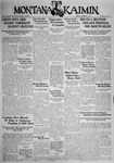 The Montana Kaimin, September 25, 1931