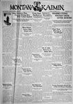 The Montana Kaimin, September 29, 1931