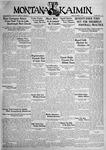 The Montana Kaimin, October 2, 1931