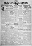 The Montana Kaimin, October 6, 1931