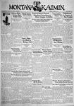 The Montana Kaimin, October 9, 1931