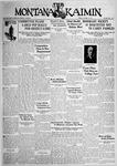 The Montana Kaimin, October 16, 1931