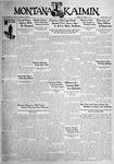 The Montana Kaimin, October 27, 1931