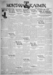 The Montana Kaimin, October 30, 1931