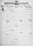 The Montana Kaimin, November 3, 1931