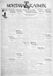 The Montana Kaimin, November 10, 1931