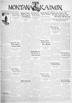 The Montana Kaimin, November 13, 1931